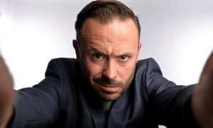 The Telegraph's go-to man for comedy comment … Geoff Norcott.