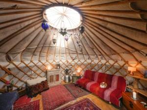 Urban London Yurt