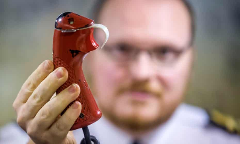 The weapons engineer officer's tactical trigger on HMS Vigilant that would be used in the final stage of a nuclear missile launch