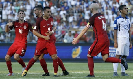 Bobby Wood rescues point and World Cup qualifying hopes for USA