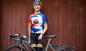 World champion trike cyclist and Rio Paralympian Hannah Dines.