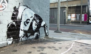 Snorting Copper by Banksy