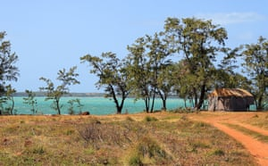 A remote beach in northeast Arnhem Land, Australia, which is part of the Dhimurru Aboriginal corporation's Indigenous protected area.