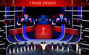 Final Draw for the 2018 FIFA World Cup Russia.