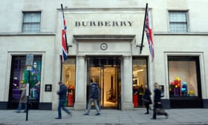A Burberry store
