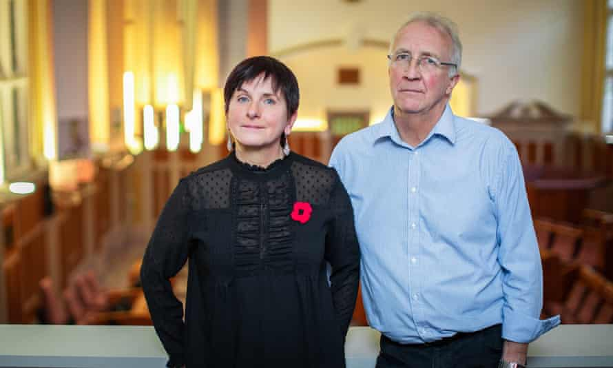 Wigan Council chief executive Donna Hall and leader David Molyneux