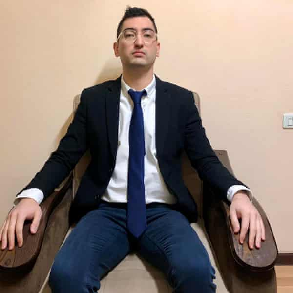 Blogger and LGBTQ+ rights supporter Miraziz Bazarov