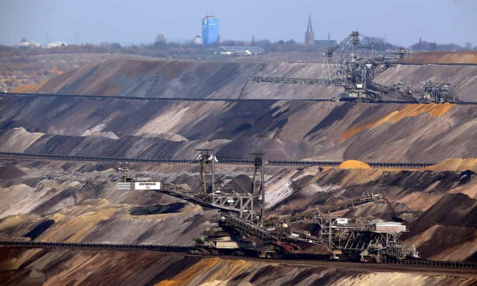 Coal is excavated near Bergheim, Germany. The coal industry fears it will be squashed by a clean energy juggernaut after the Paris climate deal.