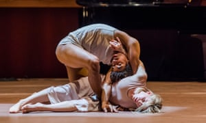 Liam Francis and Hannah Rudd in Goat by Rambert.