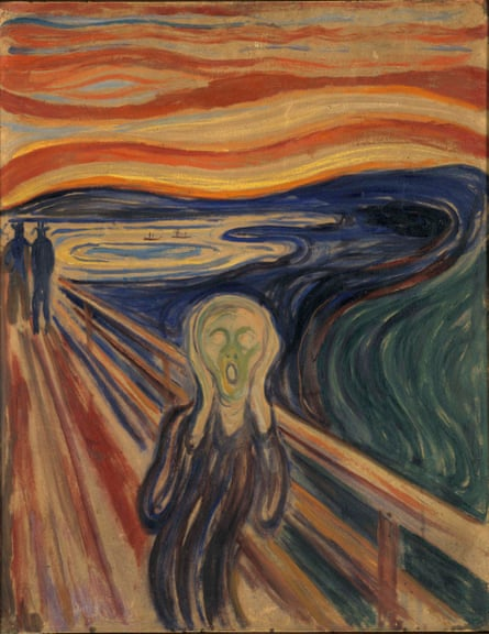 Edvard Munchs The Scream needs to practise physical