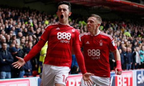 Nottingham Forest's Pinillos strikes late against Derby as new managers share spoils