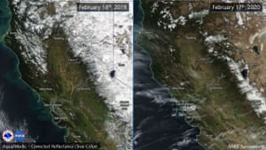 Sierra snow pack is below normal for February.