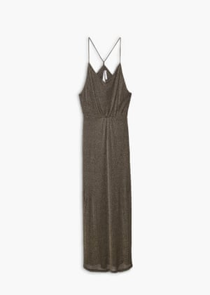 Long gown with side splits, £79.99, mango.com