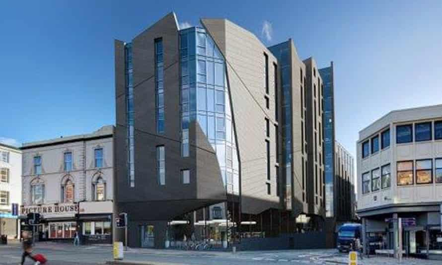 The Paramount - a render of the proposed scheme