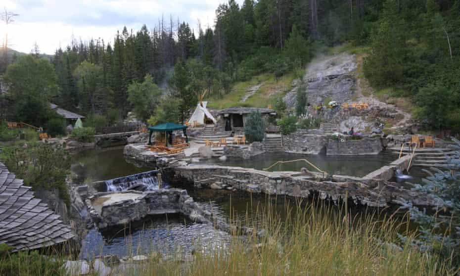 Strawberry Park springs, Colorado, US.