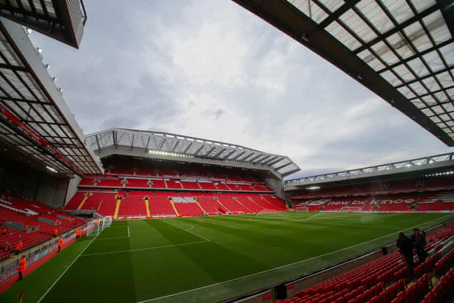 The new main stand at Anfield.