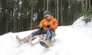 Bad Hindelang descent, Bavaria