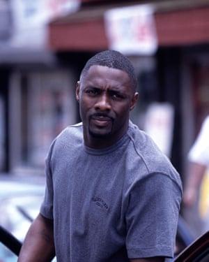 Idris Elba as Stringer Bell.