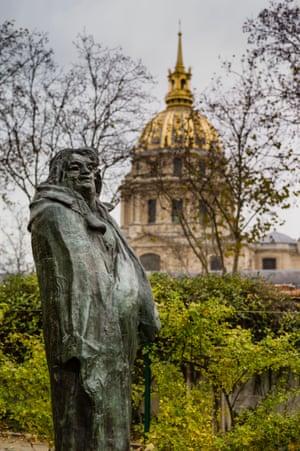 Balzac by Rodin.
