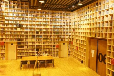 Forest of Wisdom library, Paju Book City, Paju, Gyeonggi, South Korea.