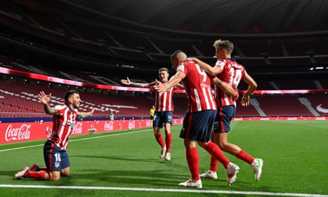 Atlético Madrid's fans commune in the car park as La Liga title gets closer | Sid Lowe