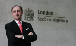 Xavier Rolet, chief executive of the London Stock Exchange.