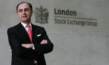 London Stock Exchange chief Xavier Rolet