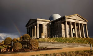 Tourist magnet … the City Observatory on Calton Hill, Edinburgh, now part of the Collective gallery complex.