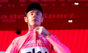 Chis Froome finished in the pink jersey at the 101st Giro d'Italia during May and completed a rare grand tour treble.