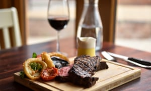 'I may eat Wagyu beef every day, washed down with the finest shiraz, but, if I really want my new home, I can make do on much more modest fare.'