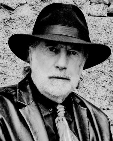 John Claridge self portrait.