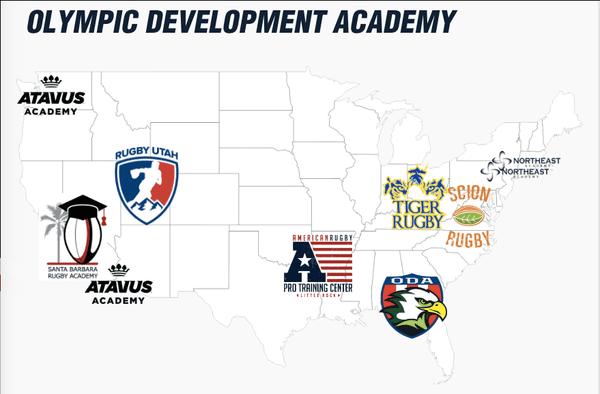 USA Rugby development academies