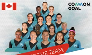 Fifteen Canada players and one member of the coaching staff have joined the Common Goal project.