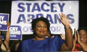 Stacey Abrams, Georgia's Democratic candidate for governor, is trying to reach voters who don't usually vote in midterm elections in the hopes to drive up turnout in her race against Republican Brian Kemp.