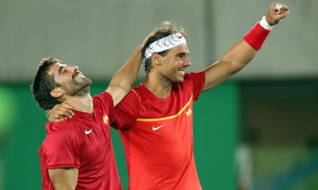Rafael Nadal wins tennis gold in Olympic men's doubles final in Rio