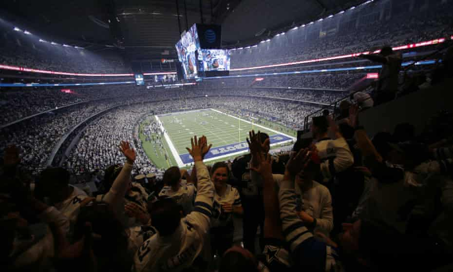 AT&T Stadium is home to the Dallas Cowboys