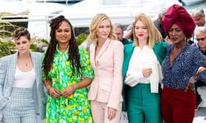 Kristen Stewart, Ava DuVernay, Cate Blanchett, Léa Seydoux and Khadja Nin