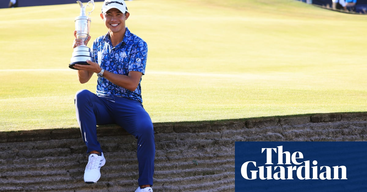 Collin Morikawa on course for greatness after Open victory on his debut