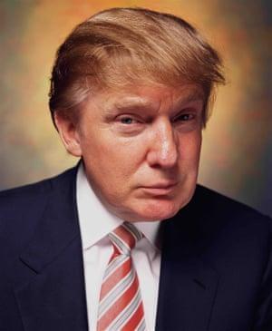 Donald Trump, 2003, by Serrano