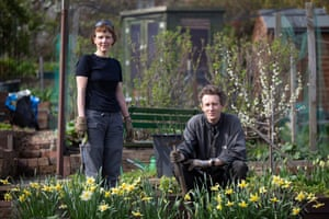 """Maggie and Colin Fraser have had the plot for 5 years. """"It's an oasis, a little bit of calm,"""" says Maggie. """"I think gardening is quite mindful anyway but at a time like this, just to take a moment, it gives you just a chance to reflect."""""""