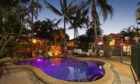 Travellers Oasis hostel, Cairns, Australia.
