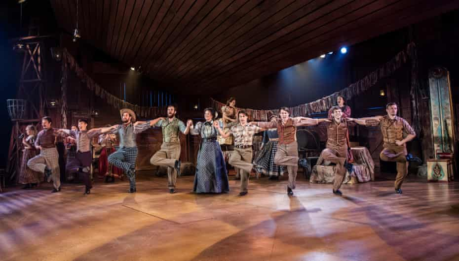Oklahoma! at Chichester Festival theatre, directed by Jeremy Sams in 2019.