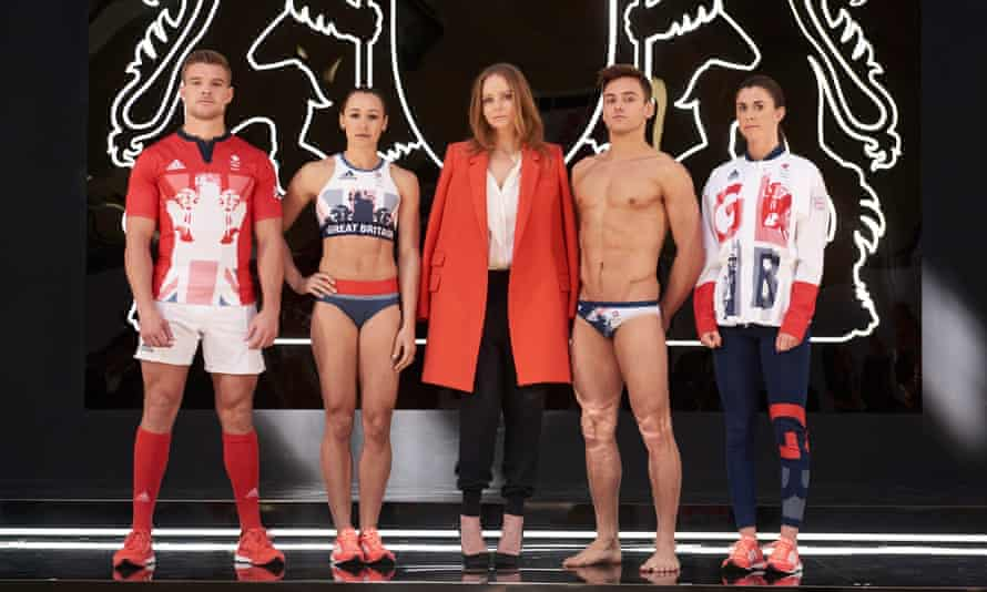 'Renaissance varsity' … Stella McCartney designed the Team GB collection.