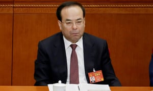 Former Communist party boss Sun Zhengcai has admitted to taking bribes of more than $26m.