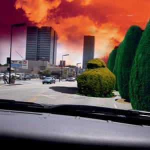 Los Angeles Dashboard, digital composition, 2003 by Stanley Donwood