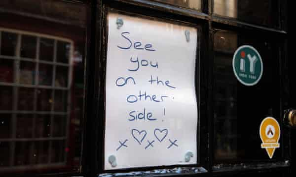 A sign in a Shambles shop window