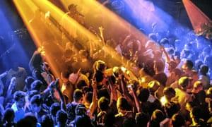 Fabric nightclub, London.