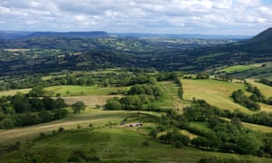 View from the Black Hill, Herefordshire.