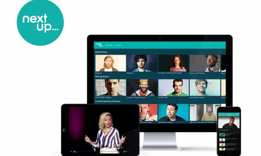 NextUp launched in 2016 to highlight up and coming comedians