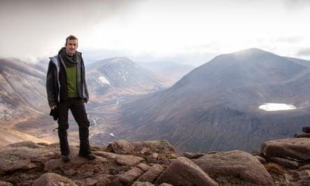 Embarking on Twitter terrain … Robert MacFarlane in the Cairngorms.